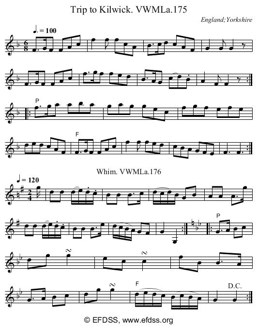 Stave transcription of image number 0 for 3049/p109