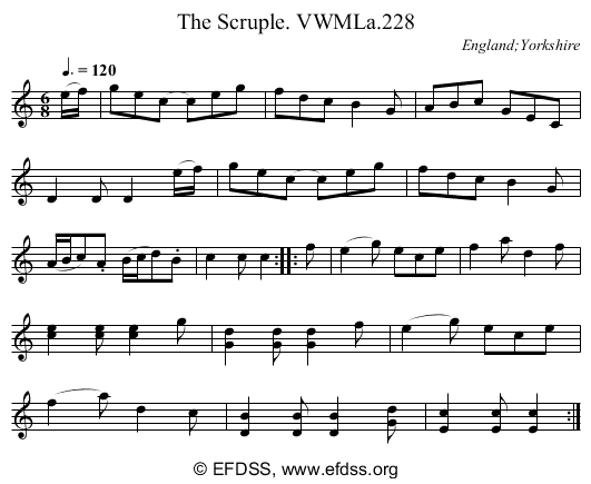 Stave transcription of image number 0 for 3049/p147