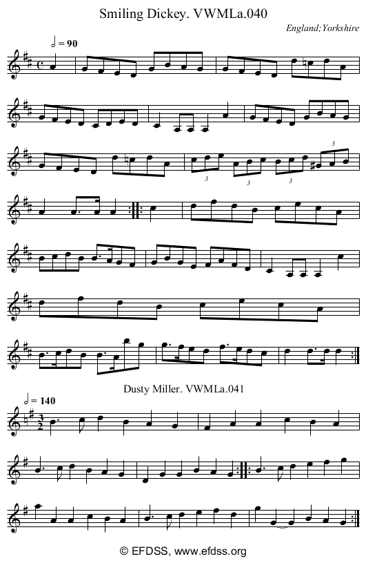 Stave transcription of image number 0 for 3049/p25