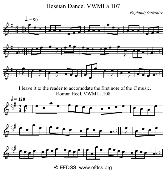 Stave transcription of image number 0 for 3049/p61