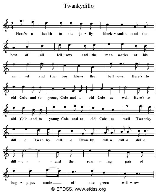 Stave transcription of image number 0 for CJS2/10/1662