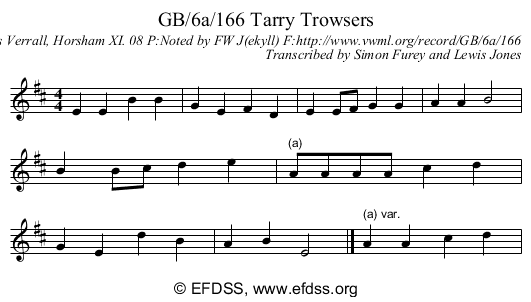 Stave transcription of image number 0 for GB/6a/166