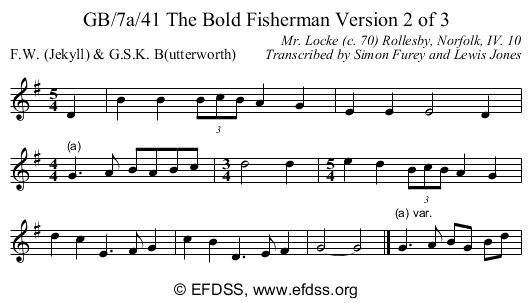 Stave transcription of image number 0 for GB/7a/42