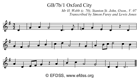 Stave transcription of image number 0 for GB/7b/1