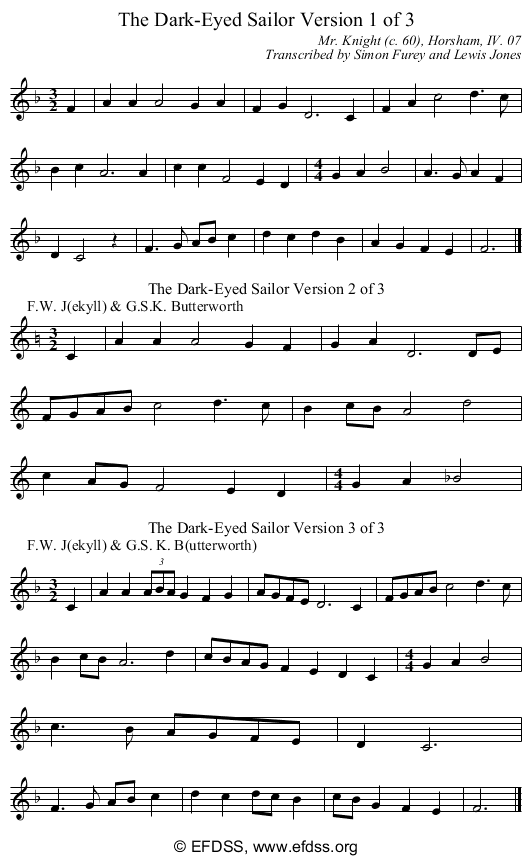 Stave transcription of image number 0 for GB/7b/3