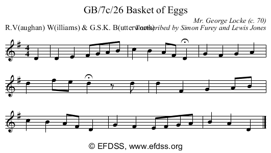 Stave transcription of image number 0 for GB/7c/26