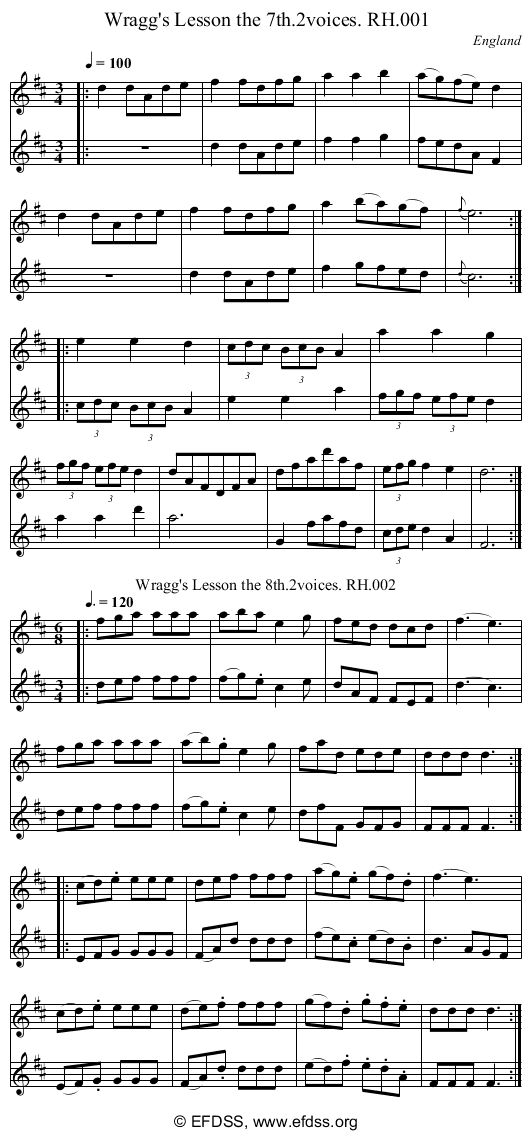 Stave transcription of image number 0 for 18473/p1