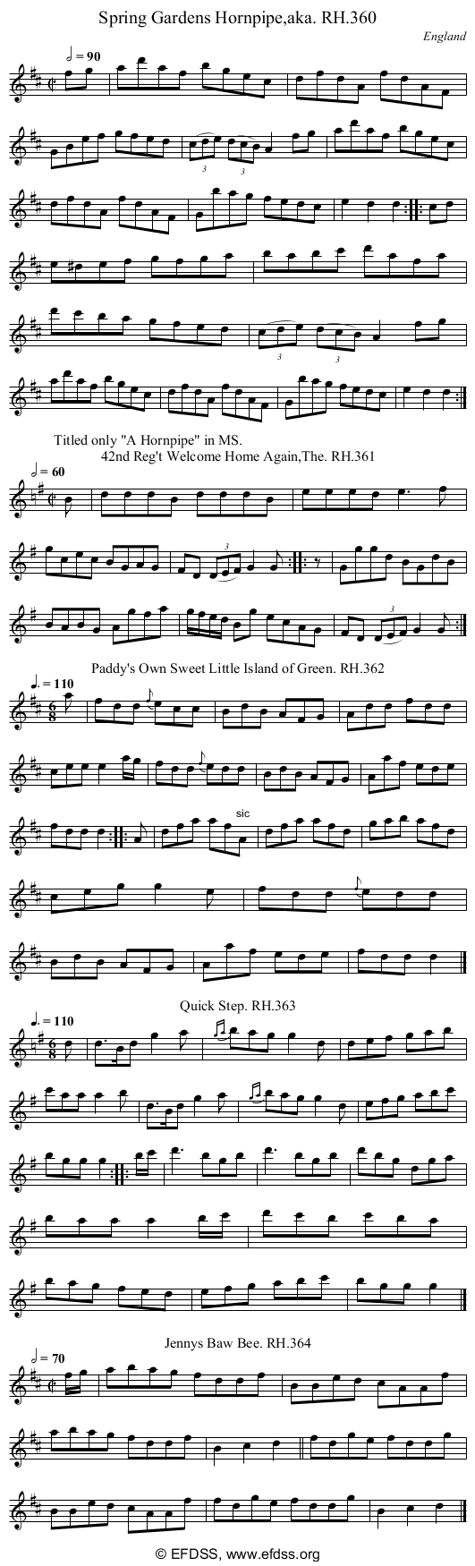 Stave transcription of image number 0 for 18473/p100