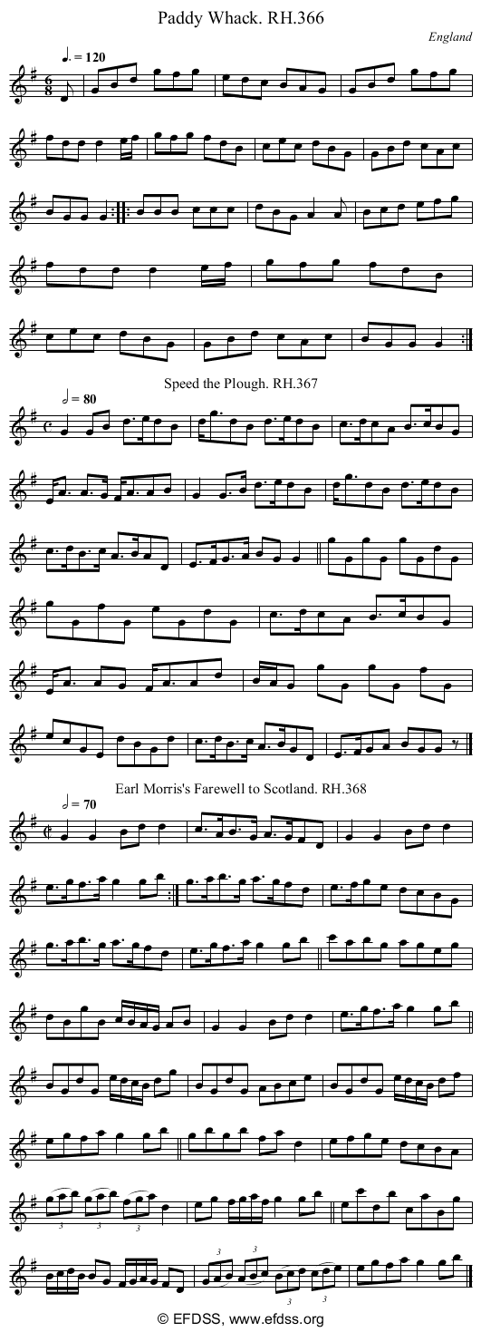 Stave transcription of image number 0 for 18473/p102