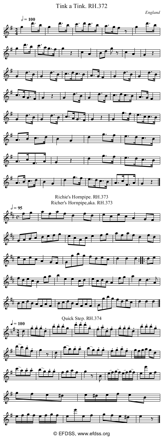 Stave transcription of image number 0 for 18473/p104