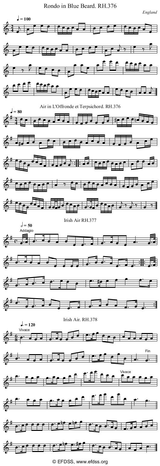 Stave transcription of image number 0 for 18473/p105