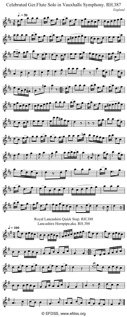 Stave transcription of image number 0 for 18473/p108