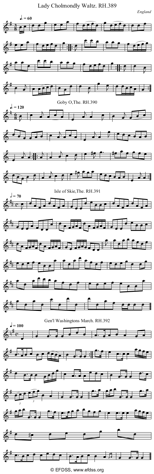 Stave transcription of image number 0 for 18473/p109