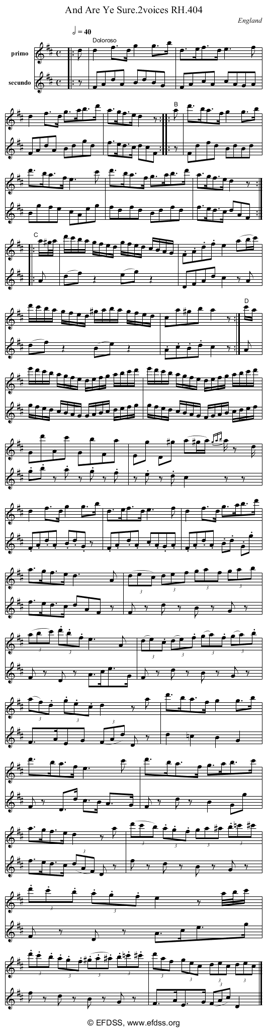 Stave transcription of image number 0 for 18473/p114