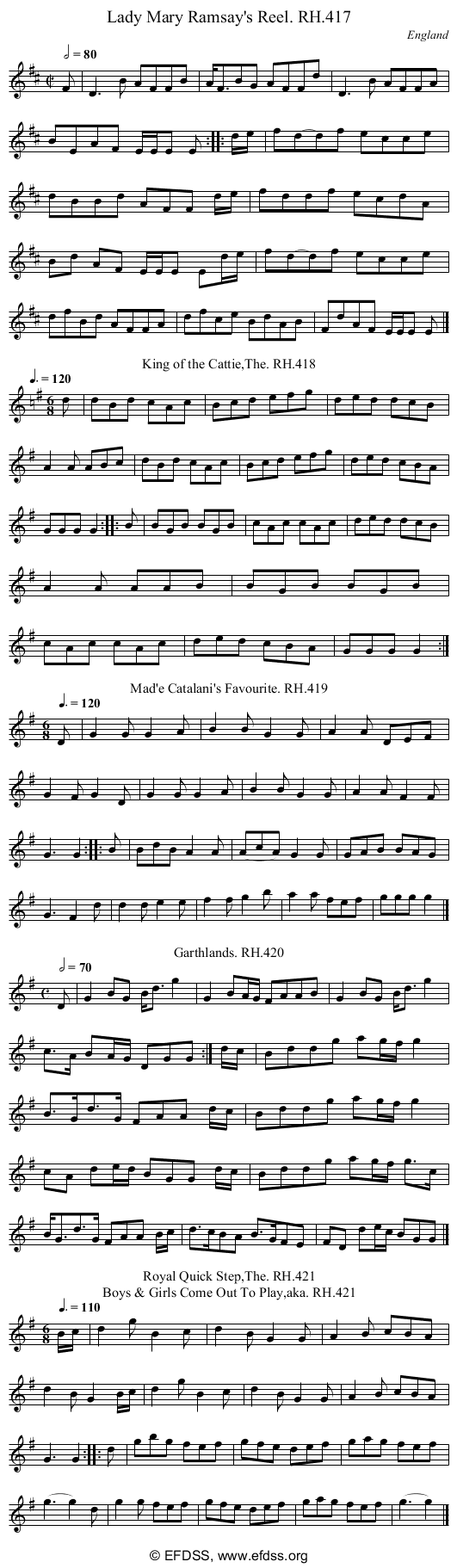 Stave transcription of image number 0 for 18473/p119