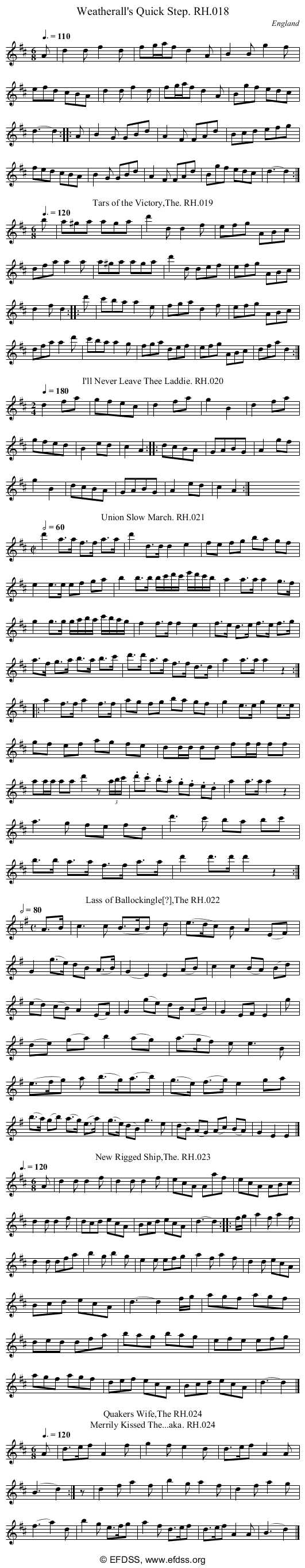 Stave transcription of image number 0 for 18473/p13