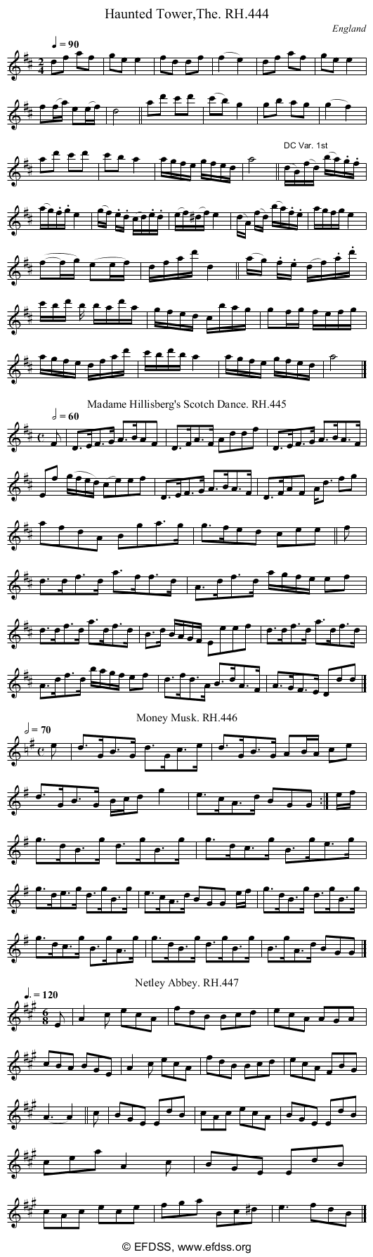 Stave transcription of image number 0 for 18473/p130