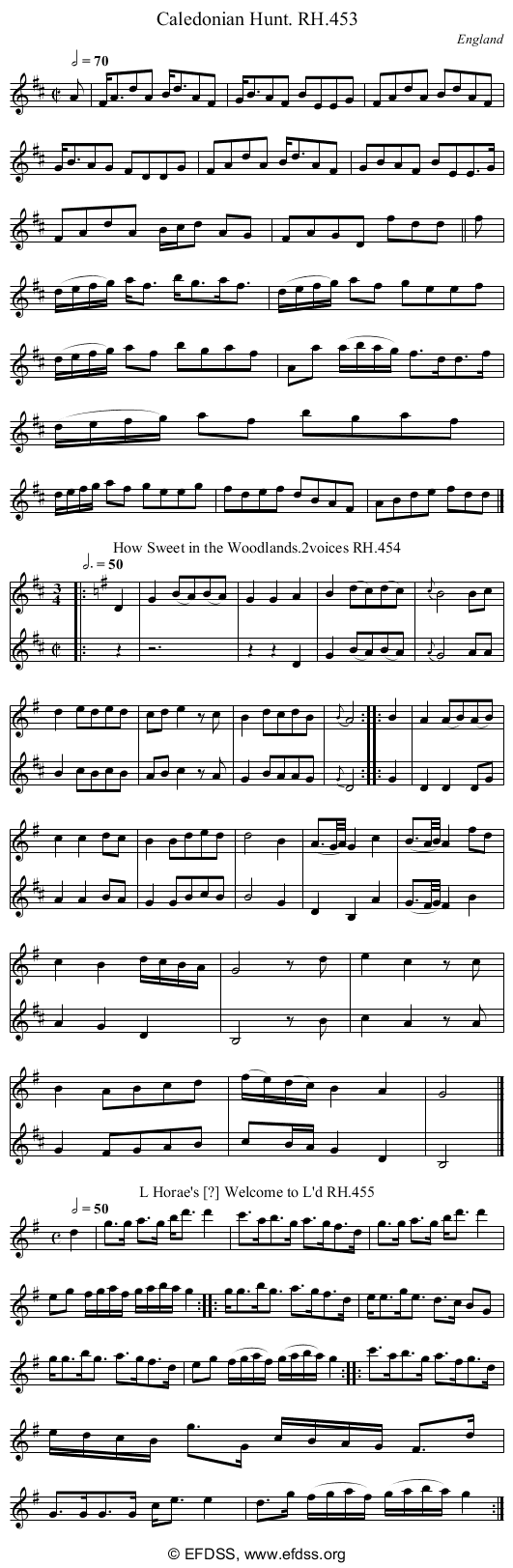 Stave transcription of image number 0 for 18473/p133