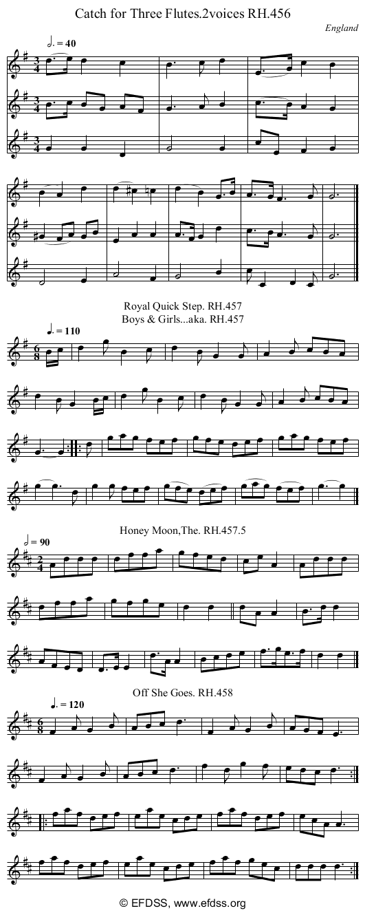 Stave transcription of image number 0 for 18473/p134