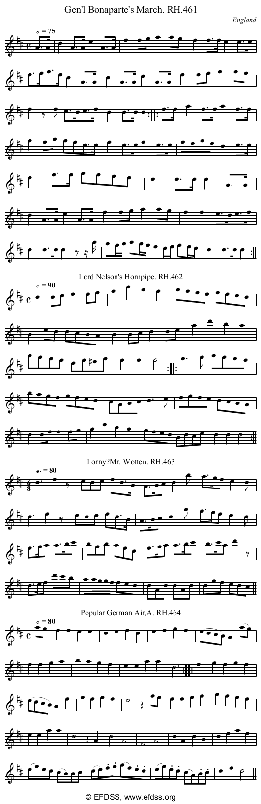 Stave transcription of image number 0 for 18473/p136