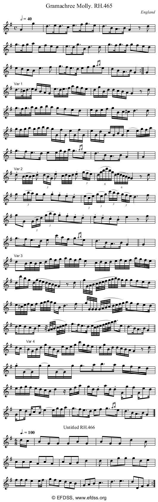 Stave transcription of image number 0 for 18473/p137