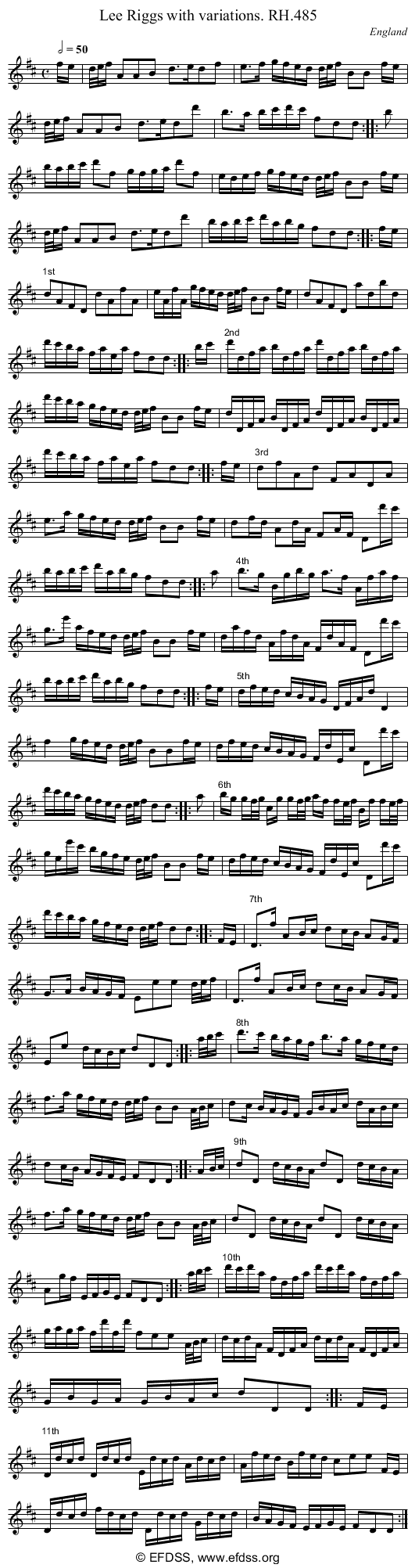 Stave transcription of image number 0 for 18473/p148