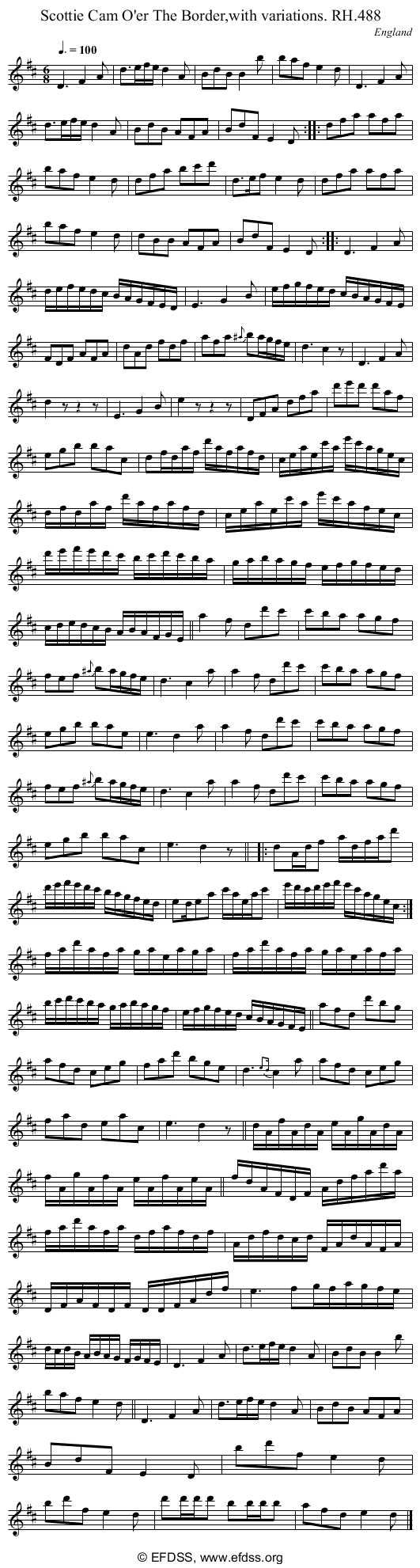 Stave transcription of image number 0 for 18473/p150