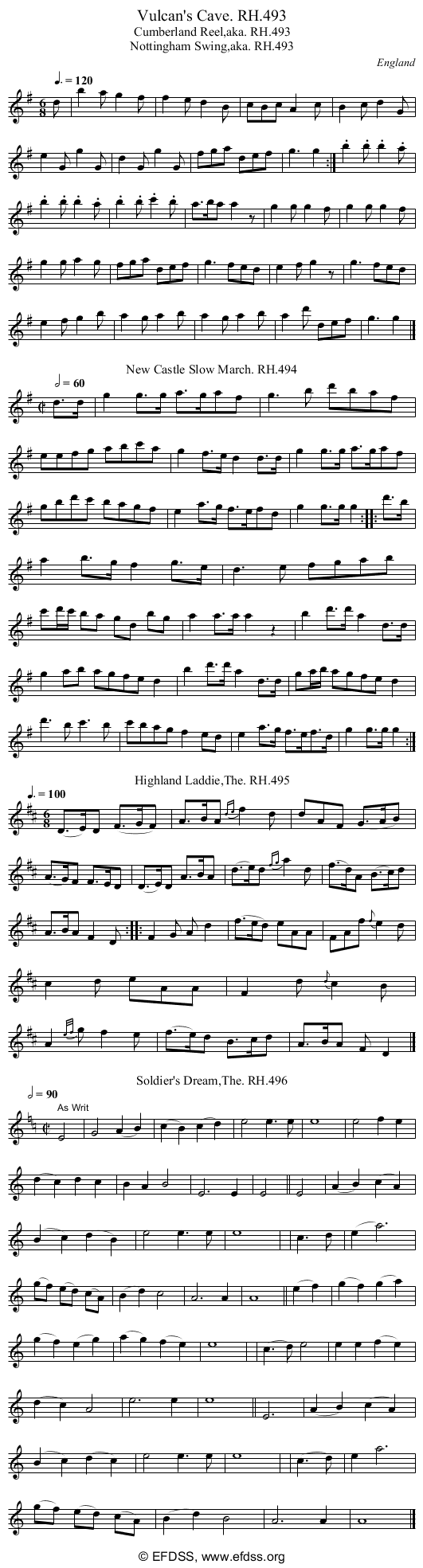 Stave transcription of image number 0 for 18473/p153