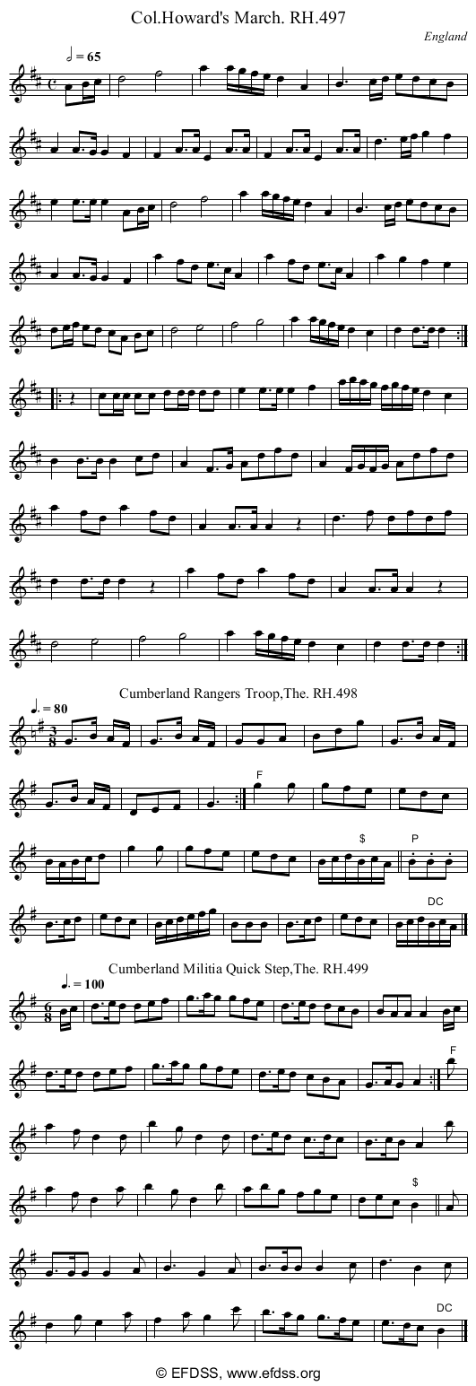 Stave transcription of image number 0 for 18473/p154