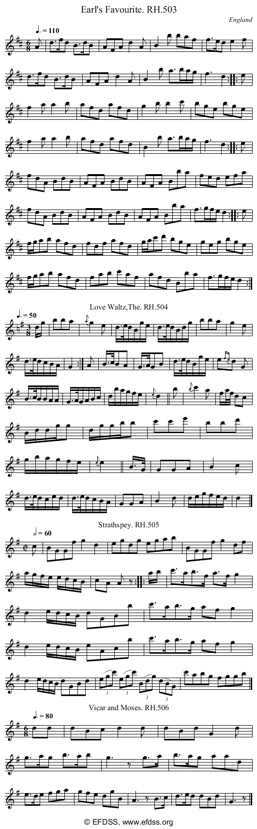 Stave transcription of image number 0 for 18473/p156