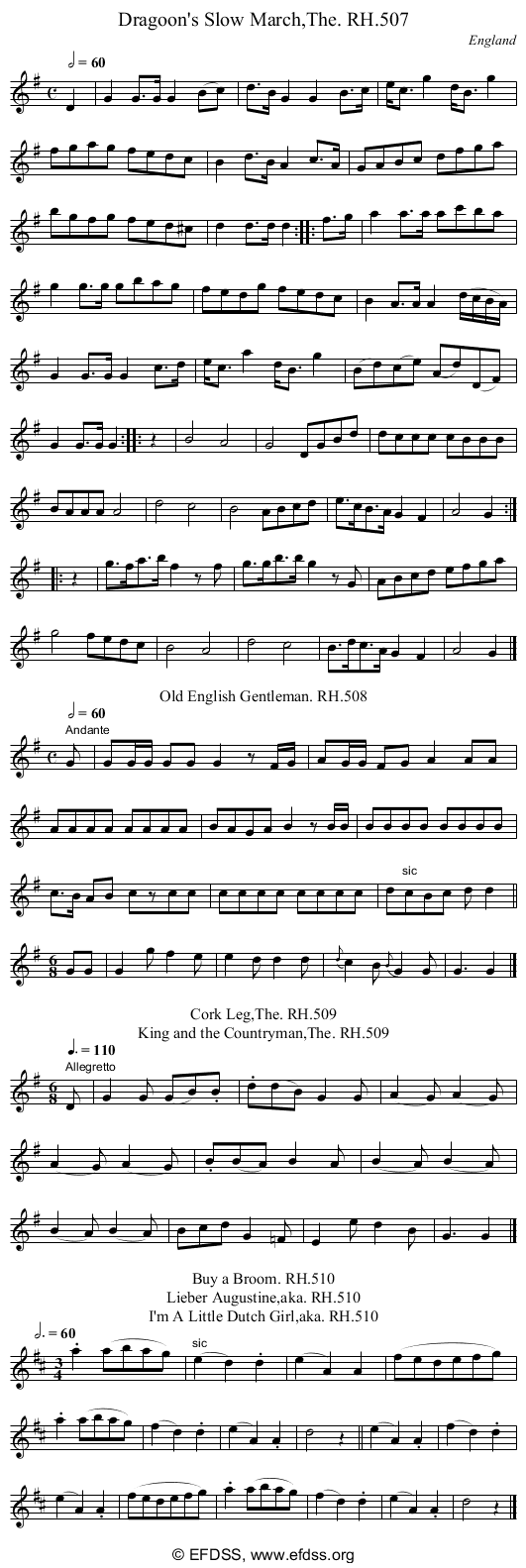Stave transcription of image number 0 for 18473/p157