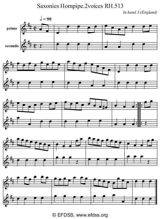 Stave transcription of image number 0 for 18473/p160