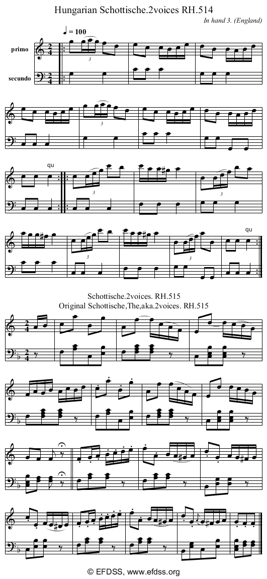 Stave transcription of image number 0 for 18473/p161