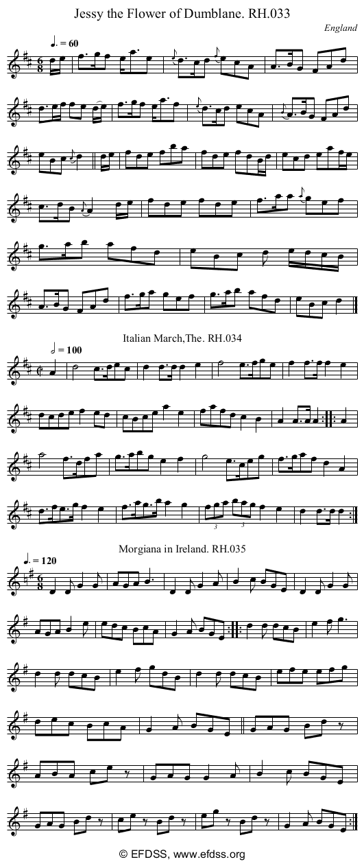 Stave transcription of image number 0 for 18473/p18
