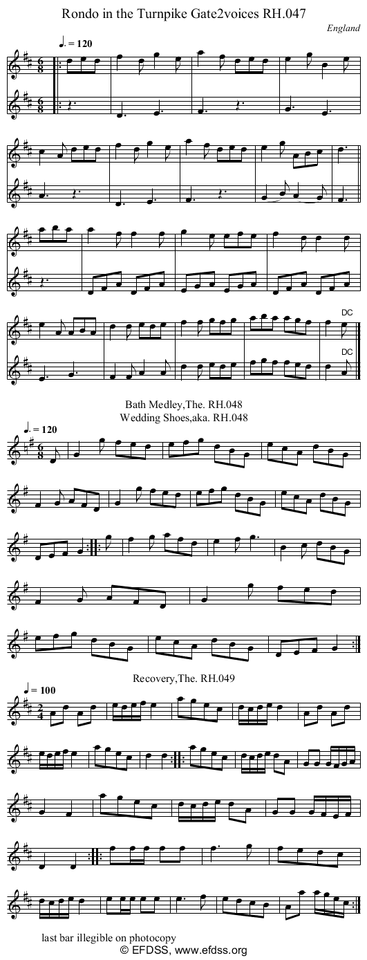 Stave transcription of image number 0 for 18473/p23