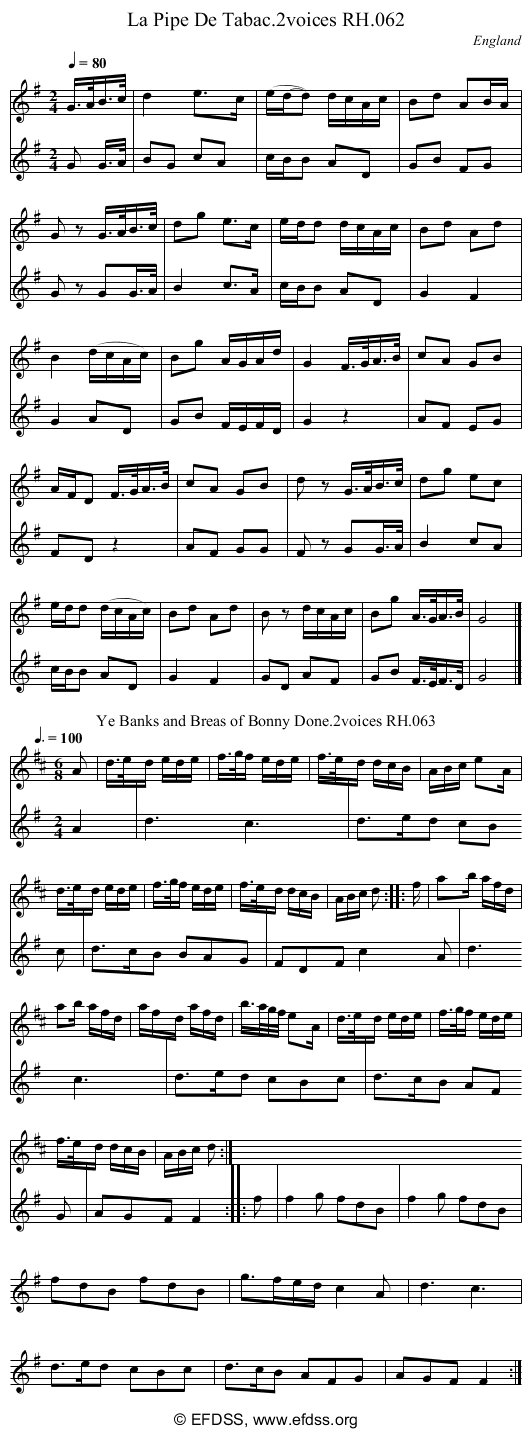 Stave transcription of image number 0 for 18473/p29