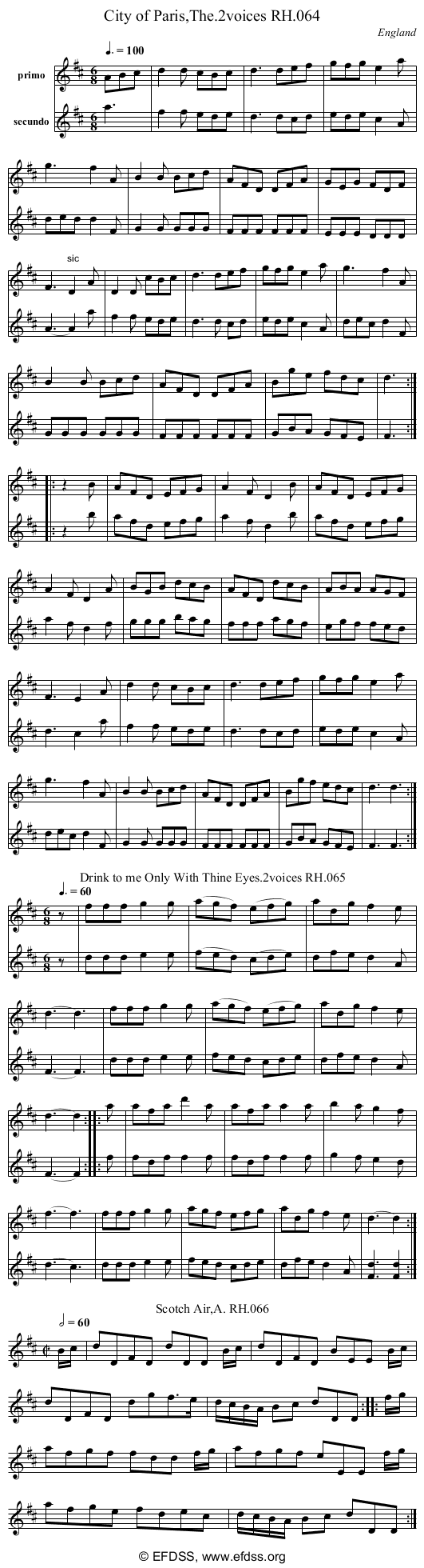 Stave transcription of image number 0 for 18473/p30