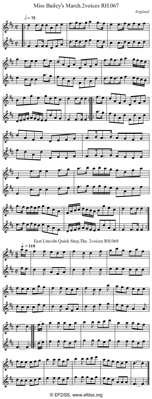 Stave transcription of image number 0 for 18473/p31