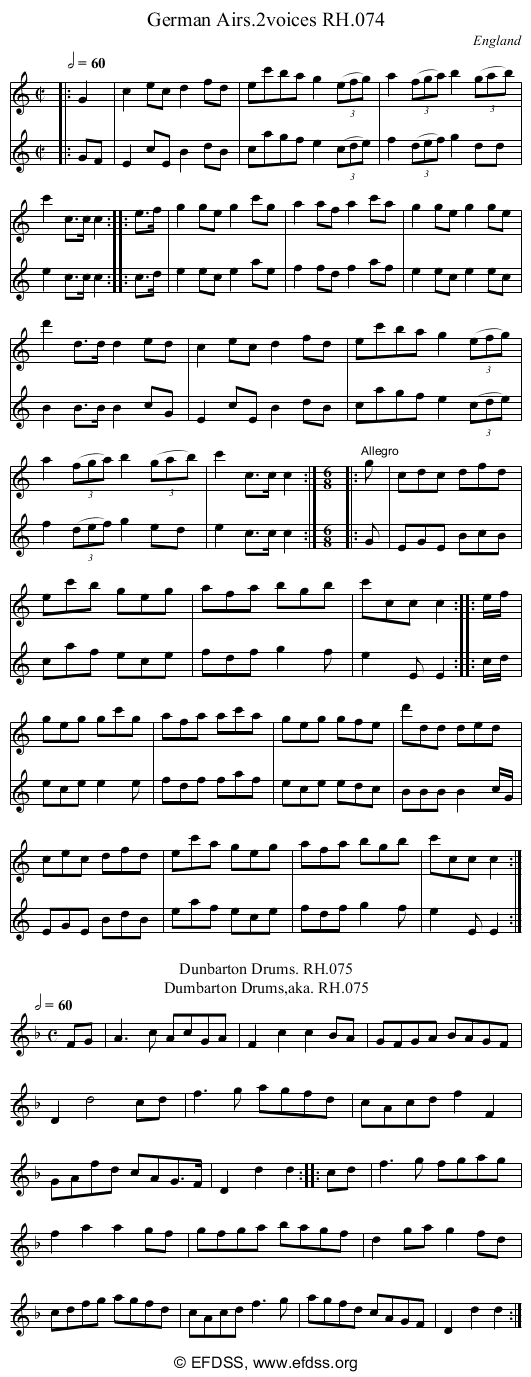 Stave transcription of image number 0 for 18473/p34