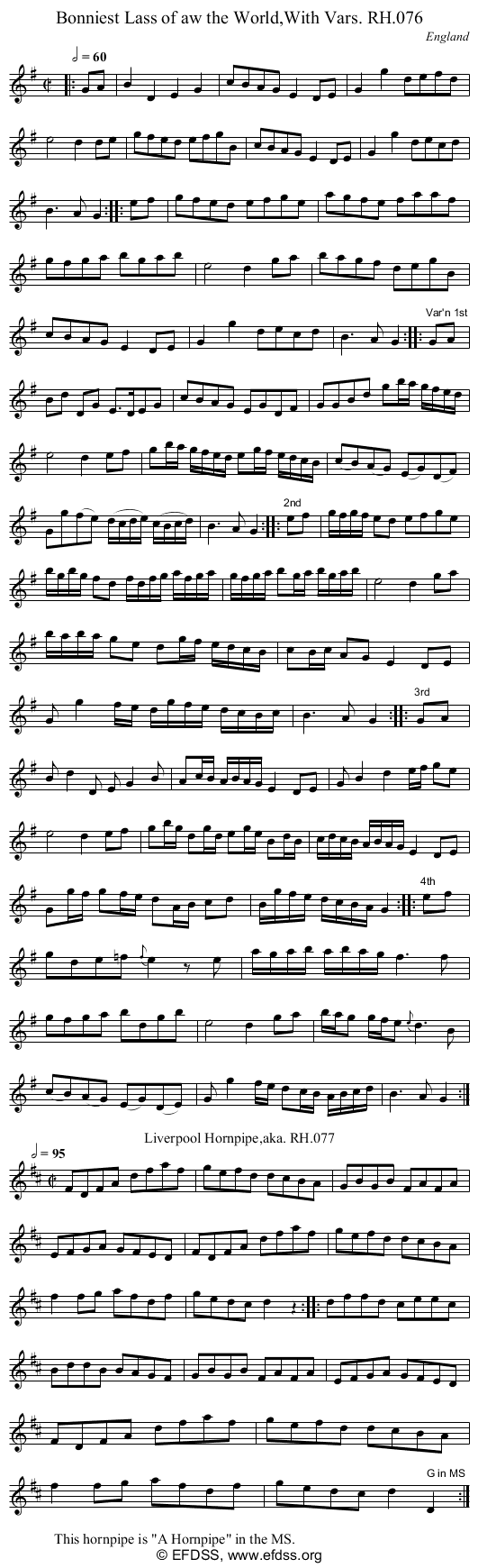 Stave transcription of image number 0 for 18473/p35