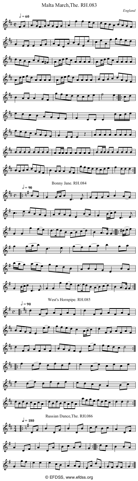 Stave transcription of image number 0 for 18473/p38