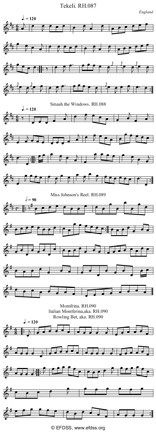 Stave transcription of image number 0 for 18473/p39