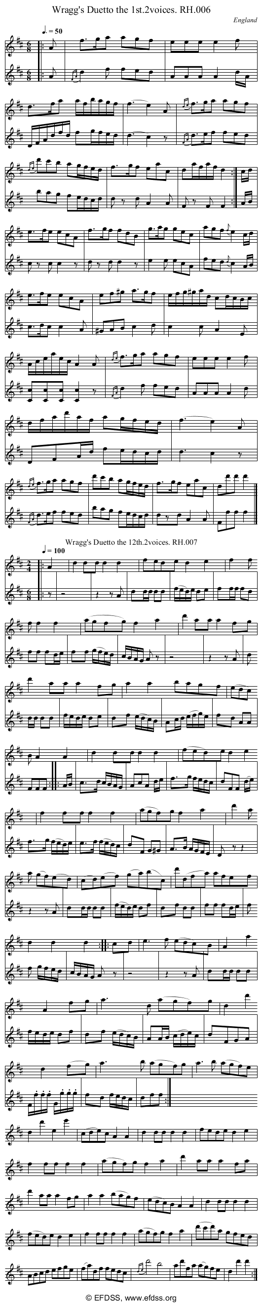 Stave transcription of image number 0 for 18473/p4