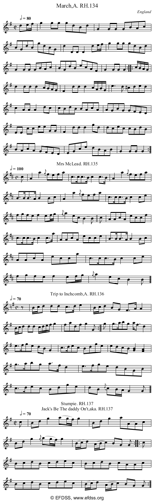 Stave transcription of image number 0 for 18473/p51