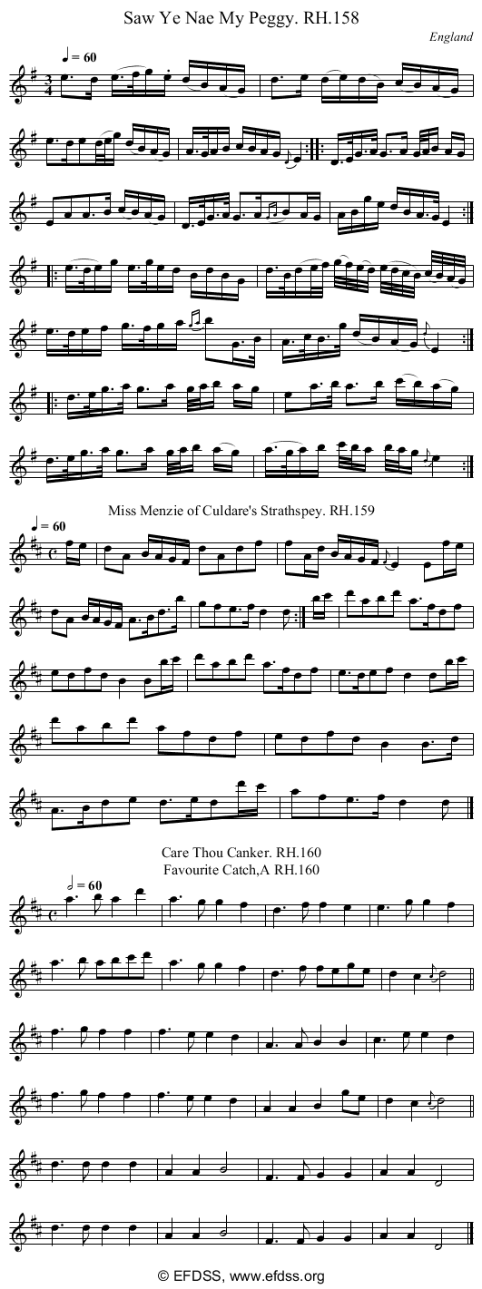 Stave transcription of image number 0 for 18473/p58