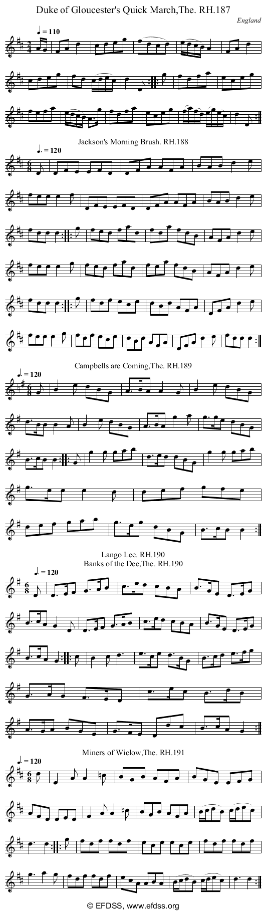 Stave transcription of image number 0 for 18473/p66