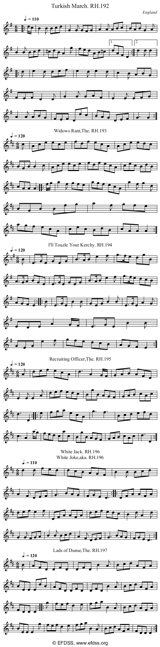 Stave transcription of image number 0 for 18473/p67