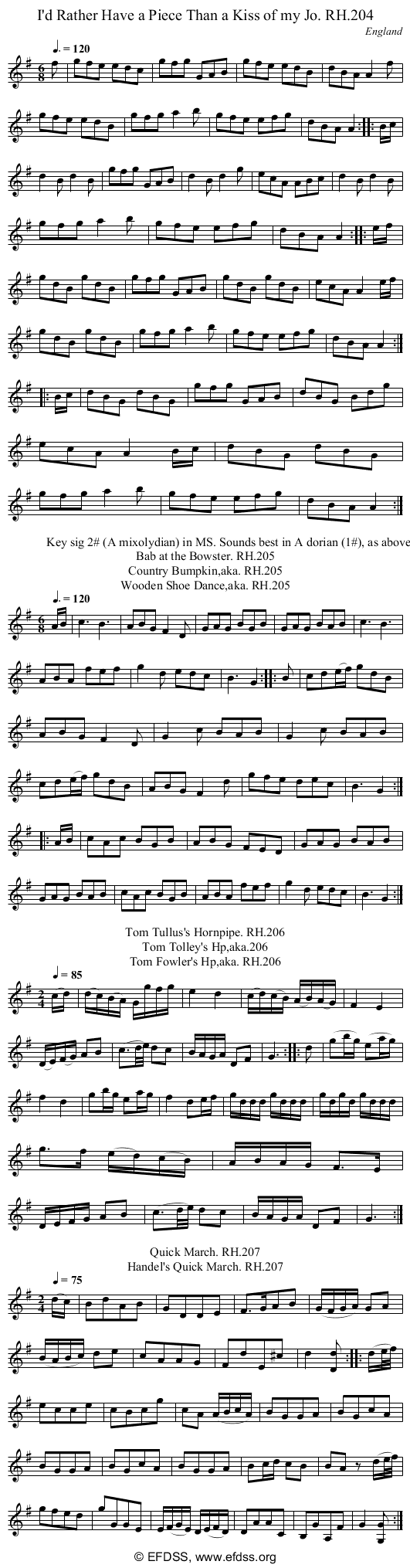 Stave transcription of image number 0 for 18473/p69
