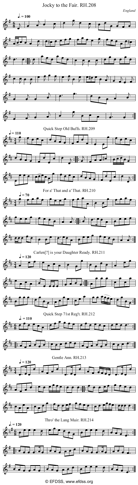 Stave transcription of image number 0 for 18473/p70
