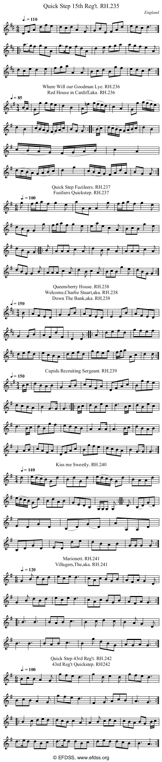 Stave transcription of image number 0 for 18473/p74